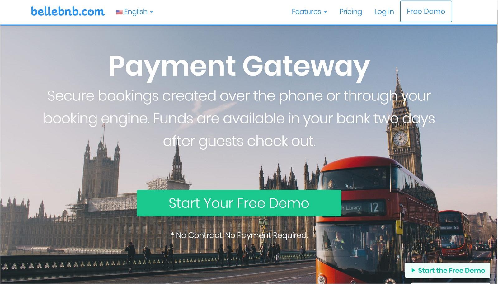 Bellebnb.com Hotel Payment Gateway