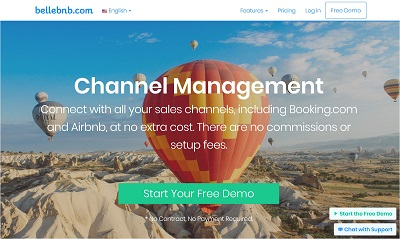 Bellebnb.com Hotel Channel Manager Software : Hotel Channel Manager Software Bellebnb  ✓ Avoid over bookings ✓ Increase revenue ✓ Connect with all your sales channels, including Booking.com and Airbnb, at no extra cost. There are no commissions or setup fees.