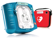 Philips Healthcare Philips HeartStart OnSite HS1, Heart Start M5066A Automated External Defibrillator : Philips HeartStart OnSite HS1, Heart Start M5066A Automated External Defibrillator, The Philips HeartStart OnSite (HS1) is designed to be lightweight and easy to use. For the ordinary person in the extraordinary moment.