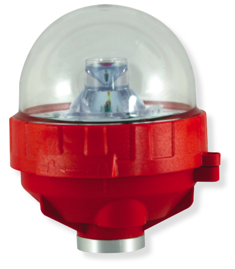 OkSolar.com Low Intensity Obstruction Light Single