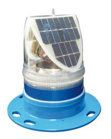IQAirport.com Solar Taxiway Light High Intensity.