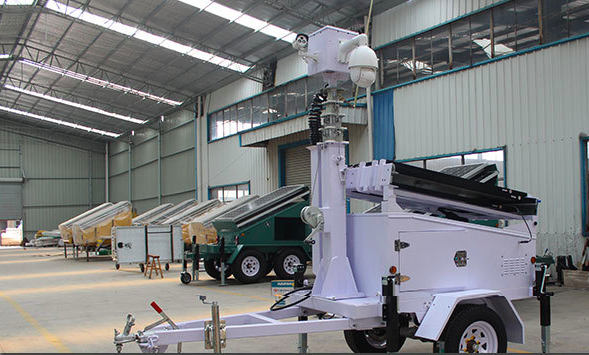 Portable Cctv Trailer : Other models available