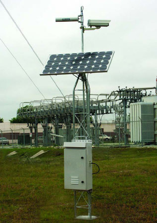 IQMilitary.com Solar Powered Airport Video Surveillance