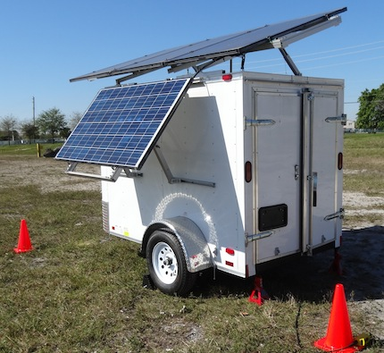 OkSolar.com Solar Trailer Generator for Refugees Camps : Solar Trailers, Solar Trailer Generator for Refugees Camps. Used Through Out The United States and World wide by FEMA Federal Emergency Management Agency, DHS Department of Homeland Security, Disaster Recovery Efforts, Red Cross Disaster Relief, Disaster Preparedness & Recovery.