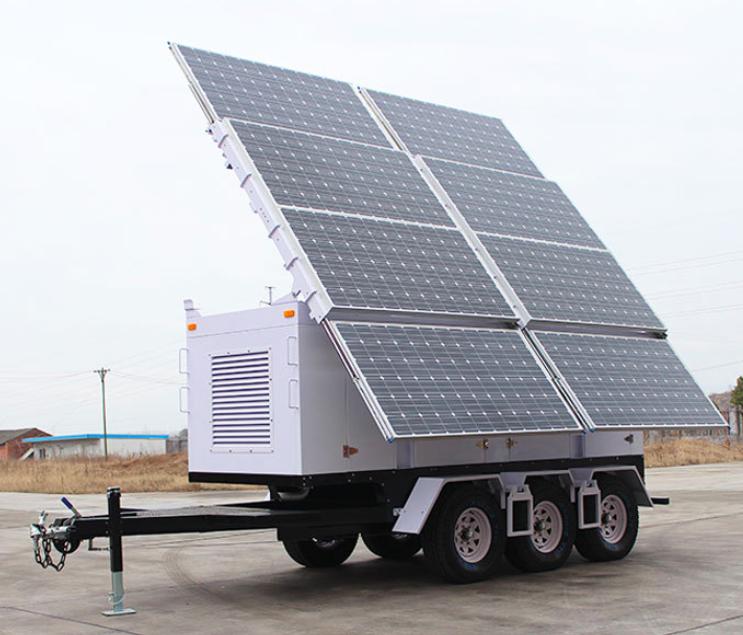 OkSolar.com Solar Trailer for Refugees Camp
