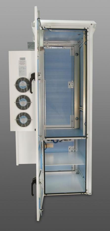 OkSolar.com Nema Outdoor Wireless Racking Cabinet Enclosure HVAC Closed Loop