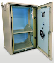 OkSolar.com Racking Battery Enclosure : Racking Battery Enclosure