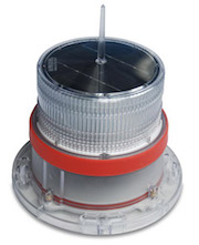 IQAirport.com Solar Marine Navigation Light RED Up to 3 Nautical Miles Visible Range : Solar Marine Navigation Light RED Up to 3 Nautical Miles Visible Range, Marine Navigation Lights, Solar Buoys, Solar power Navigation Light
