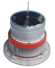 IQAirport.com Solar Marine Navigation Light RED Up to 3 Nautical Miles Visible Range : Solar Marine Navigation Light RED Up to 3 Nautical Miles Visible Range, Marine Navigation Lights, Solar Buoys, Solar power Navigation Light