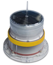 IQAirport.com Solar Marine Navigation Light Yellow Up to 3 Nautical Miles Visible Range : Solar Marine Navigation Light Yellow Up to 3 Nautical Miles Visible Range, Marine Navigation Lights, Solar Buoys, Solar power Navigation Light