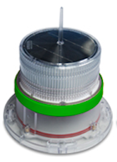 IQAirport.com Solar Marine Navigation Light Green Up to 3 Nautical Miles Visible Range : Solar Marine Navigation Light Green Up to 3 Nautical Miles Visible Range, Marine Navigation Lights, Solar Buoys, Solar power Navigation Light