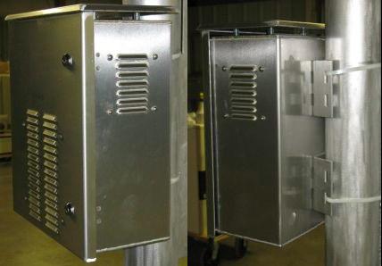 OkSolar.com Solar Battery Enclosure Aluminum
