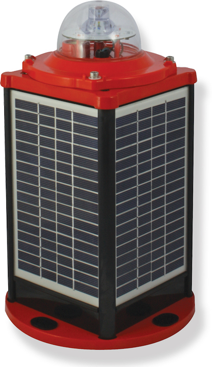 IQAirport.com Solar Powered Low Intensity Obstruction Light Type A