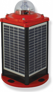 IQAirport.com Solar Powered ICAO Low Intensity Obstruction Light Type A : Solar Powered ICAO Low Intensity Obstruction Light Type A