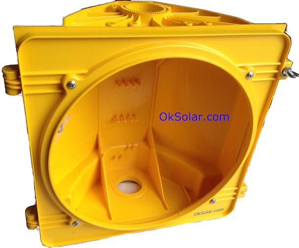 IQTraffiControl.com Traffic Light Housings 8 inches Yellow
