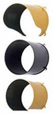 IQTraffiControl.com Traffic Signal Visors 8 inches Black