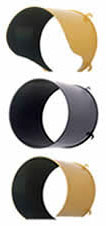 IQTraffiControl.com Traffic Signal Visors 12 inches Black