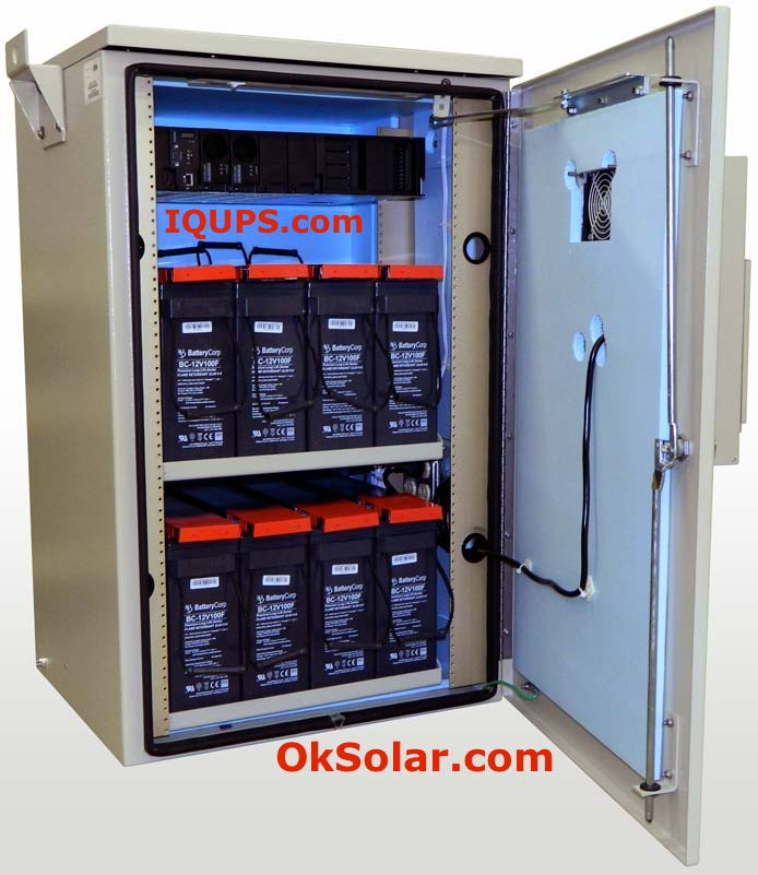 IQUPS.com Energy Storage System 34KW Hour.