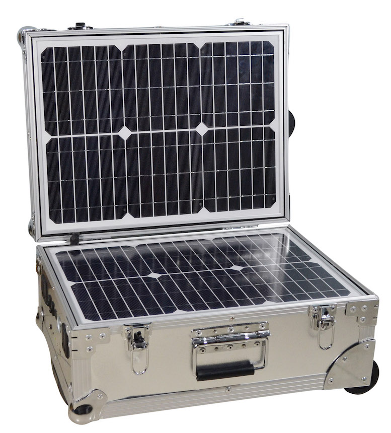 IQMilitary.com Emergency Portable Solar Power Generator