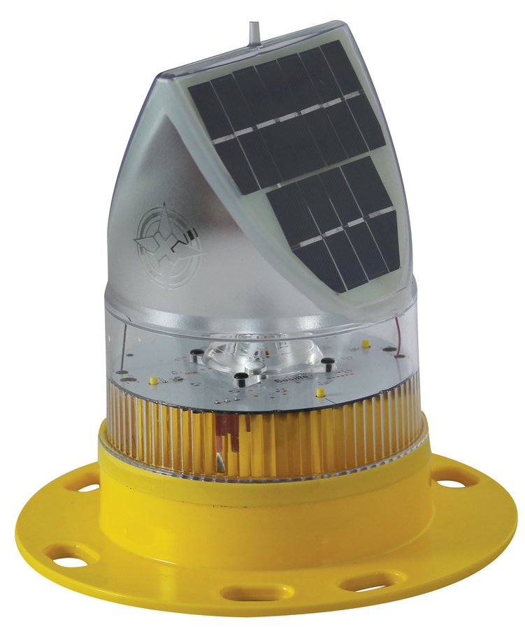 IQAirport.com Solar Marine Lantern Up to 3 Nautical Miles Visible Range