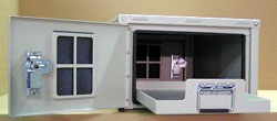 OkSolar.com Outdoor Battery Compartment Enclosures