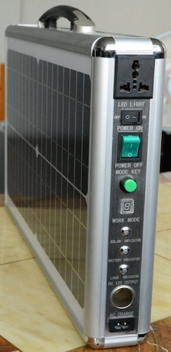 IQMilitary.com Military Portable Solar Power Generator System : Military Portable Solar Power Generator System 20 Watts