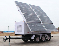OkSolar.com Solar Powered Trailers : Solar Powered Trailers, Solar Trailers, Solar Trailer Emergency Backup. Used Through Out The United States and World wide by FEMA Federal Emergency Management Agency, DHS Department of Homeland Security, Disaster Recovery Efforts, Red Cross Disaster Relief, Disaster Preparedness & Recovery.