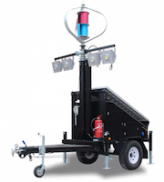 IQUPS.com Solar Light Tower with Wind Turbine 400w, Disaster Preparedness Recovery. : Solar Light Tower with Wind Turbine 400w, Solar Light Tower, Mobile Solar Light Trailer, Used Through Out The United States and World wide by FEMA Federal Emergency Management Agency, DHS Department of Homeland Security, Disaster Recovery Efforts, Red Cross Disaster Relief, Disaster Preparedness & Recovery.High lumen efficacy rechargeable emergency light batteries for night lighting,