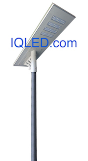 IQLED.com Airport Security Lighting Solar Light all in one integrated 8800 Lumens 80 Watts : Airport Security Solar Light all in one integrated 8800 Lumens 80 Watts, Solar Lighting, Solar Power LED Street Lighting, Solar Parking Lot Lights, Solar LED Street lighting.