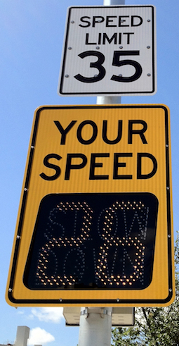 IQTraffiControl.com Radar Speed Signs