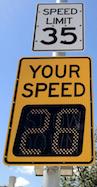 IQTraffiControl.com Radar Speed Signs : Radar Speed Signs, Speed Detection Signs - Vehicle Speed Detection - Your Speed Warning Signs.
