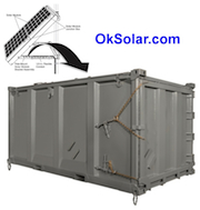 OkSolar.com Solar Light Tower Quadcon Containers : Solar Light Tower Quadcon Containers Solar Trailers, Solar Trailer Solar Light Tower Quadcon Containers. Used Through Out The United States and World wide by FEMA Federal Emergency Management Agency, DHS Department of Homeland Security, Disaster Recovery Efforts, Red Cross Disaster Relief, Disaster Preparedness & Recovery.