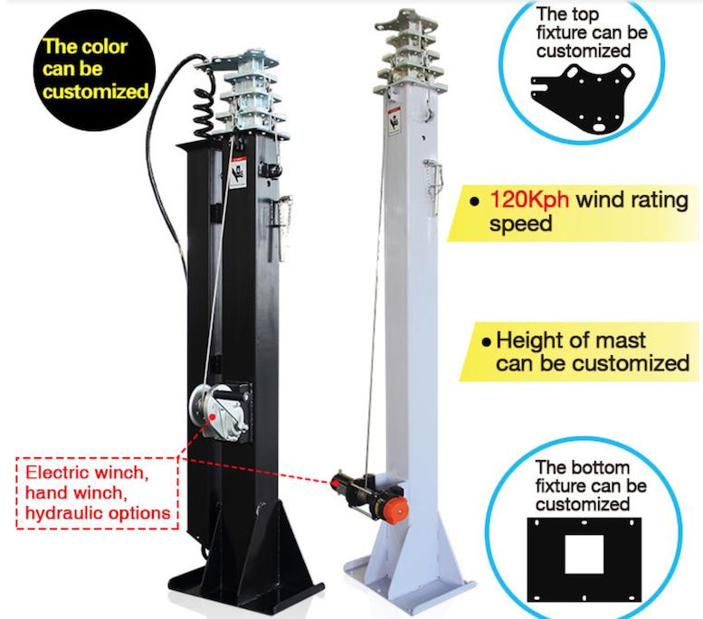 IQMilitary com Military Telescopic Mast Pole