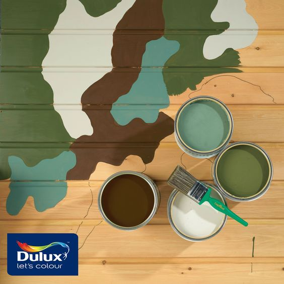 IQMilitary.com Military Camouflage Removable Paint