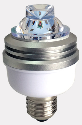IQLED.com E27 Obstruction Aviation Bulb which is especially designed for Obstruction lights