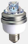 IQLED.com E27 Obstruction Aviation Bulb which is especially designed for Obstruction lights : E27 LED Lamp For Low Intensity Aviation Obstruction Light, E27 Obstruction Aviation Bulb which is especially designed for Obstruction lights