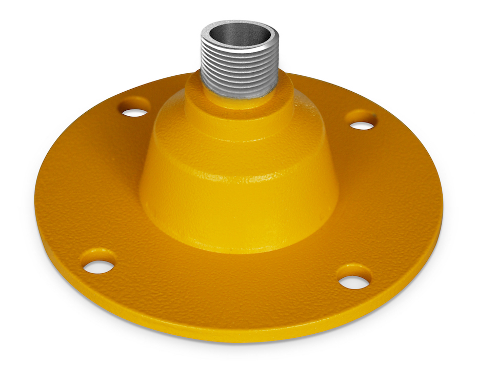 IQAirport.com Solar Obstruction Light Mount Set Completes