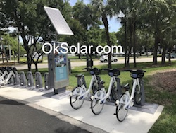 OkSolar.com Hotel Solar Charger for Electric Bikes : Hotel Solar Charger for Electric Bikes