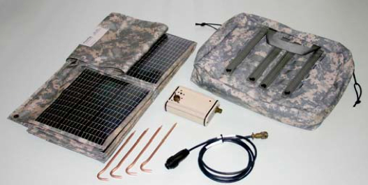OkSolar.com MD57 Military Foldable Solar Panel Solar Battery Charging Kit, Single Unit Charger
