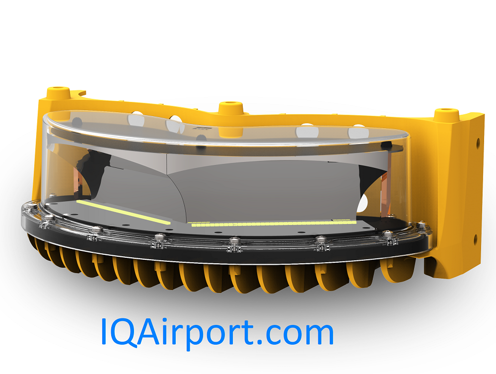 IQAirport.com High Intensity Obstruction Light 1 Layer FAA or ICAO 120VAC, 230VAC, 48DC
