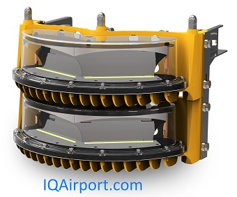 IQAirport.com High Intensity Obstruction Light 2 Layer FAA or ICAO 120VAC, 230VAC, 48DC : High Intensity Obstruction Light 2 Layer FAA or ICAO 120VAC, 230VAC, 48DC