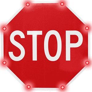 Blinker Stop Flashing LED STOP Sign, Solar Blinker Stop, BlinkerStop Flashing LED STOP Sign, blinker stop flashing led stop sign.