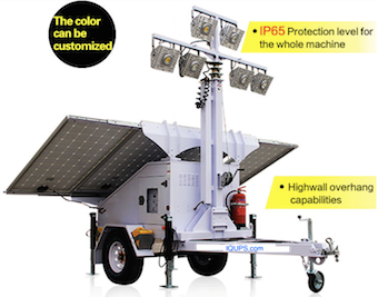 IQLED.com Portable Hybrid Solar Light Tower : Portable Hybrid Solar Light Tower, Solar Lights Tower, Solar Light Tower Disaster Relief , Mobile Solar Light Trailer.Used Through Out The United States and World wide by FEMA Federal Emergency Management Agency, DHS Department of Homeland Security, Disaster Recovery Efforts, Red Cross Disaster Relief, Disaster Preparedness & Recovery. High lumen efficacy rechargeable emergency light batteries for night lighting.