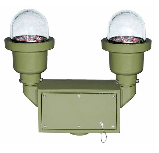 IQAirport.com Tactical Military Obstruction Light Infrared : Tactical - Military Obstruction Light - Infrared Head or Visible Color - Obstruction Light Infrared