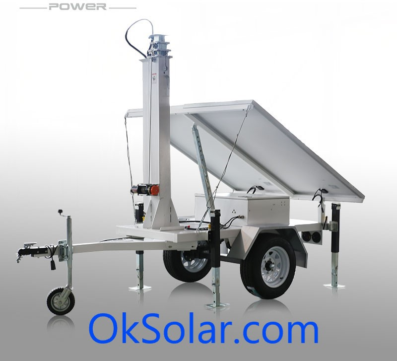OkSolar.com Solar Trailer