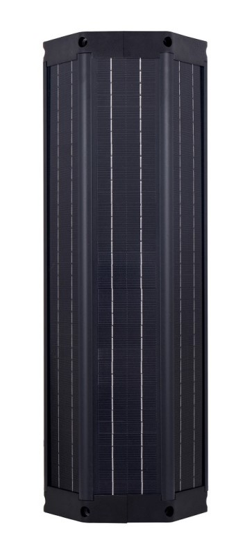 OkSolar.com Cylindrical Solar Panels : Cylinder Solar Module 60 Watts - Max.voltage 18 V : Max. current : 3.3A Size : 220 * 228 * 660 mm | Cylinder Solar Module | Cylindrical Solar Panels | Cylindrical Solar Modules | solar Module | solar Panel | Solar Parking Lot Lighting | Solar warehouse Parking lot lighting | Solar LED Light for Residential and Commercial | Solar Airport Parking lot lighting.