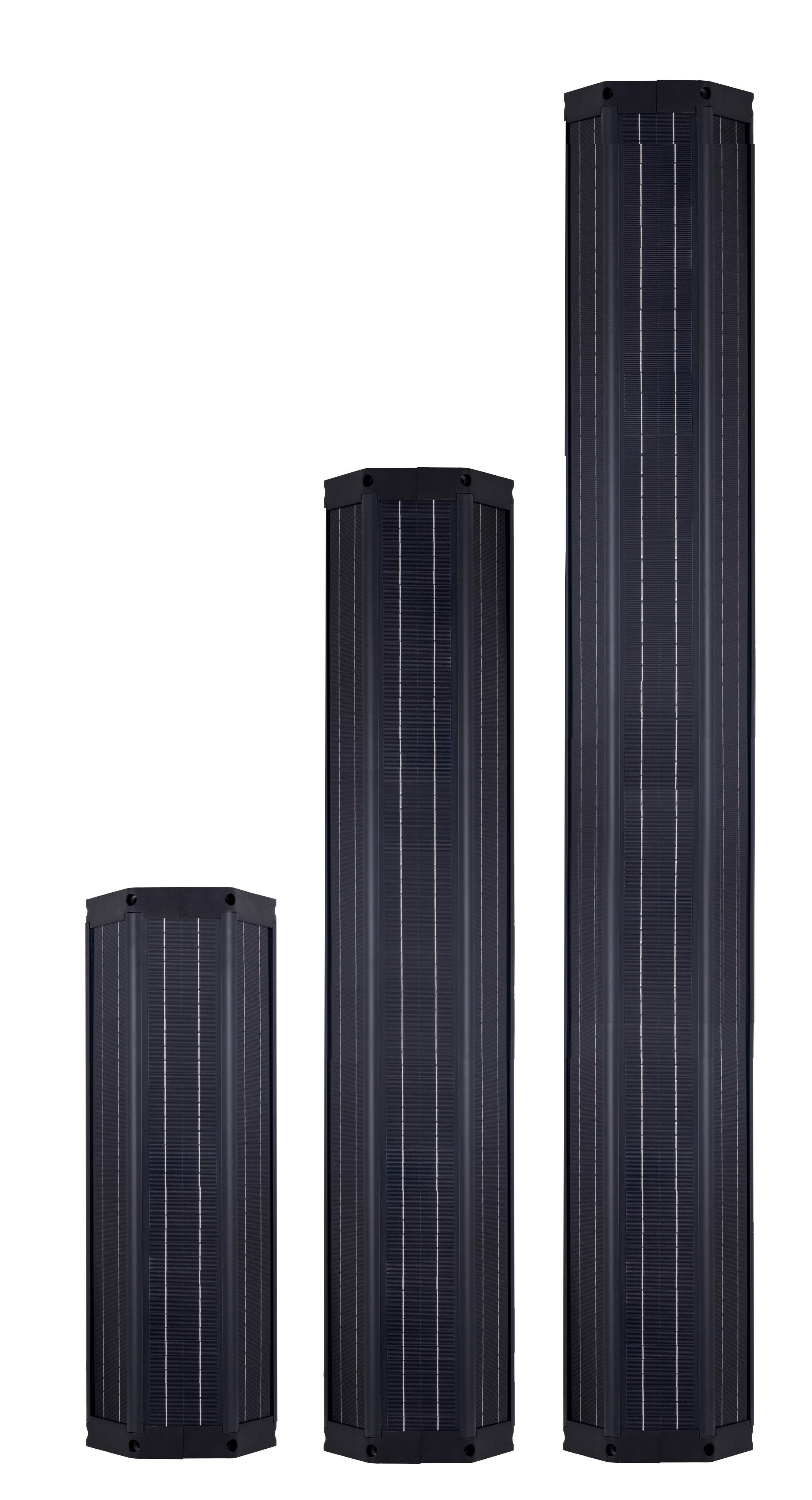 Cylinder Solar Module | Cylindrical Solar Panels | Cylindrical Solar Modules | solar Module | solar Panel | Solar Parking Lot Lighting | Solar warehouse Parking lot lighting | Solar LED Light for Residential and Commercial | Solar Airport Parking lot lighting.