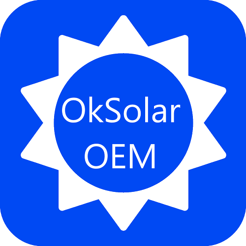 OkSolar.com OEM   Original Equipment Manufacturer (OEM) :                 OEM   Original Equipment Manufacturer (OEM) Use this item to request a quotation for an OEM unlisted Item             We provide OEM energy solutions for military and government, as well as private sector applications.