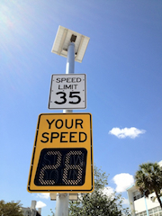 IQTraffiControl.com Solar Powered Speed Limit Signs : Solar Powered Speed Limit Signs, Solar Powered Speed Signs,