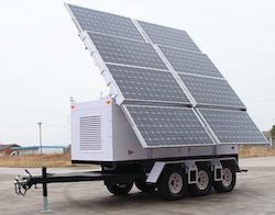 OkSolar.com Solar Generators To Supply Electricity at Refugee Camps : Solar Generators To Supply Electricity at Refugee Camps, Solar Powered Trailers, Solar Trailers, Solar Trailer Emergency Backup.